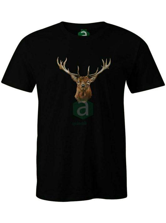 Szarvasbika vadász póló