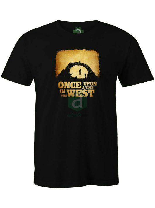 Volt egyszer egy vadnyugat póló