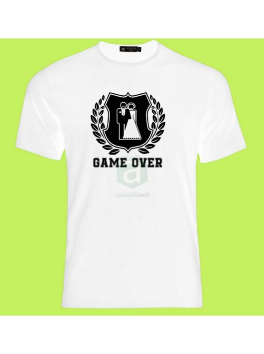 Game Ower póló