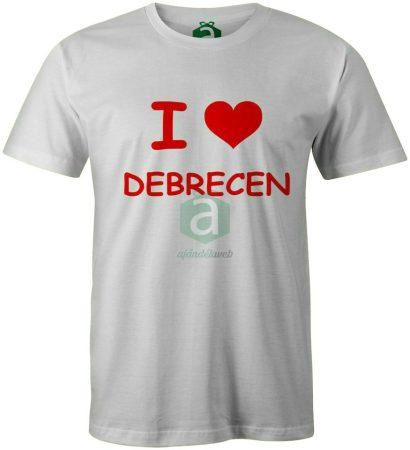 I love Debrecen póló