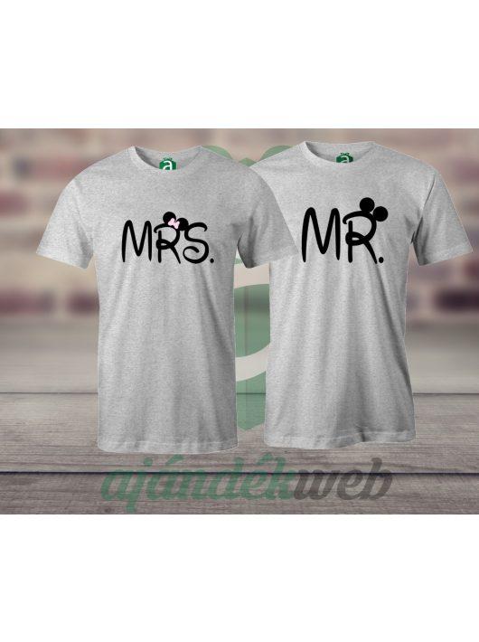 Mr & Mrs páros pólók