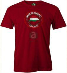 Made In Hungary   Nagymagyarország születésnapi   póló