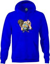 Leichester - motkány kapucnis pulóver