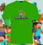 Minecraft póló