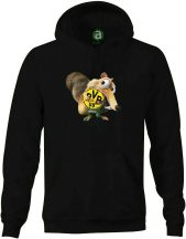 Dortmund   motkány kapucnis pulóver