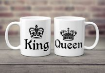 King - Queens páros bögre bögre