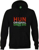 HUN original since 895 kapucnis pulóver