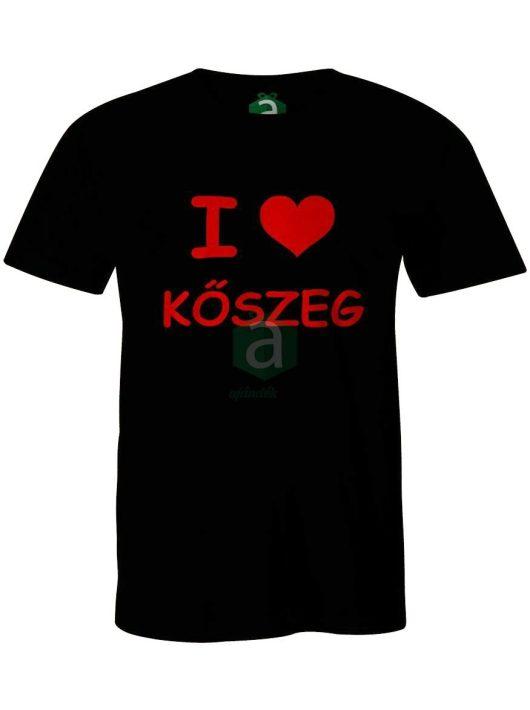 I love Kőszeg póló