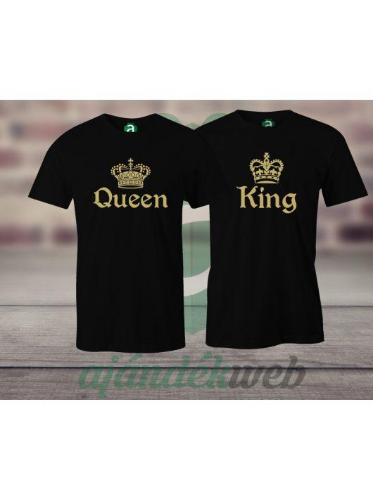 Queen & King páros pólók