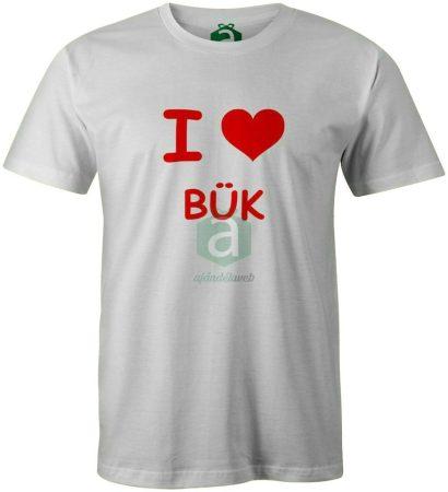 I love Bük póló