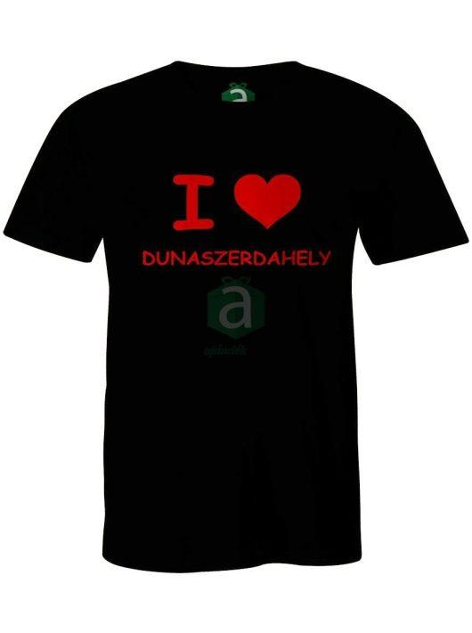 I love Dunaszerdahely póló