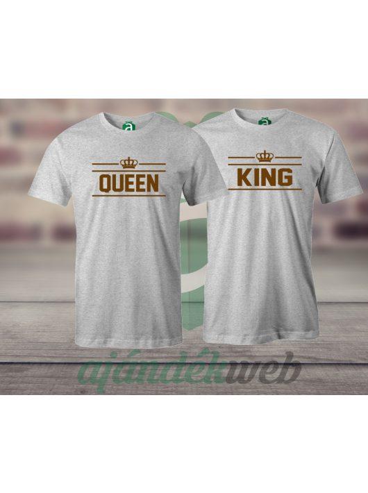 Queen & King 2 páros pólók