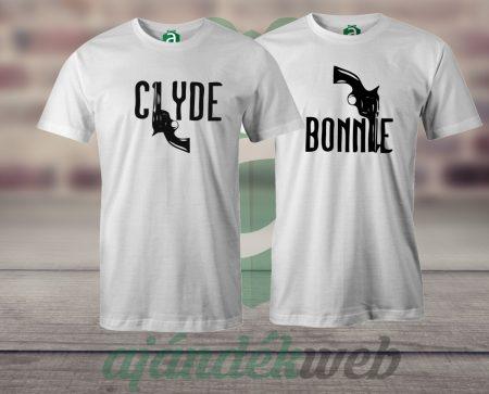 Bonnie - Clyde póló