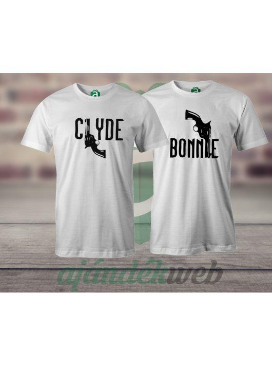 Bonnie & Clyde páros pólók