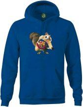 Barcelona   motkány kapucnis pulóver