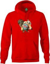 Liverpool   motkány kapucnis pulóver