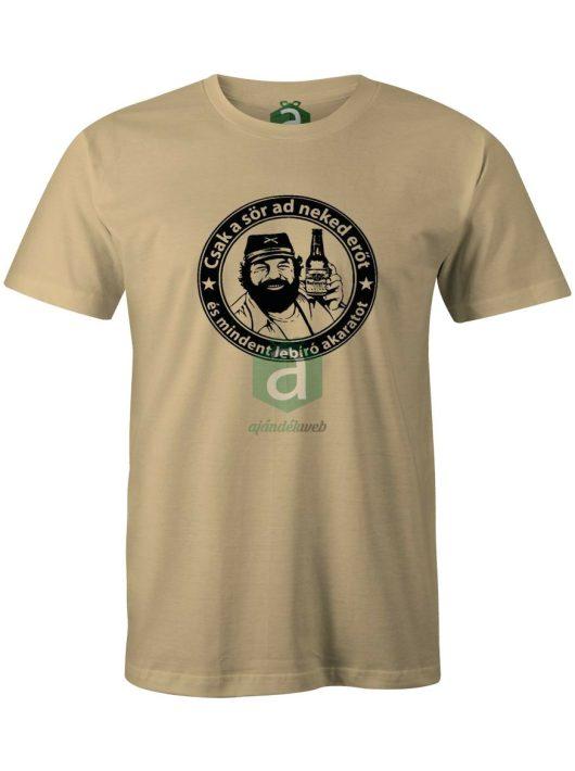 Bud Spencer Csak a sör ad neked..  póló
