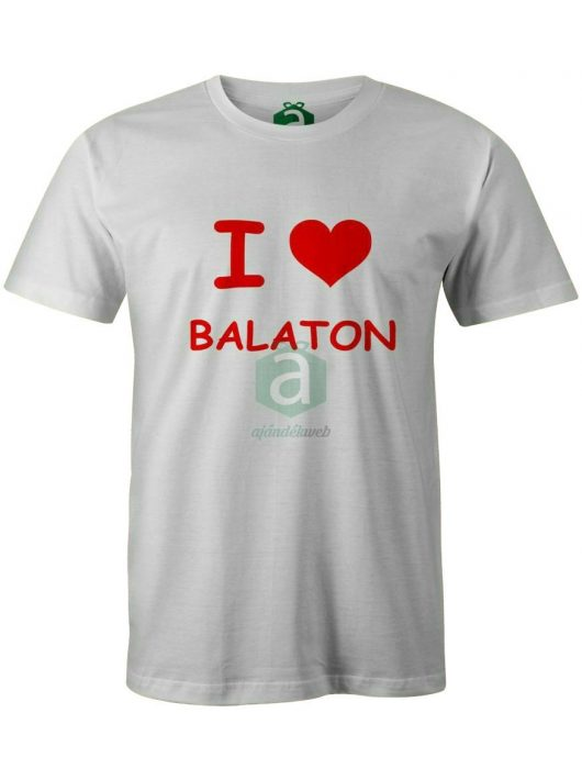 I love Balaton póló