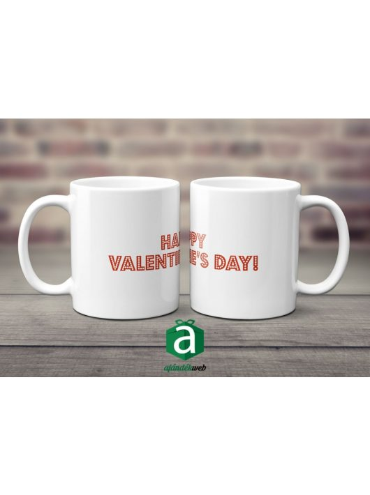 Happy Valentin's Day 1 bögre