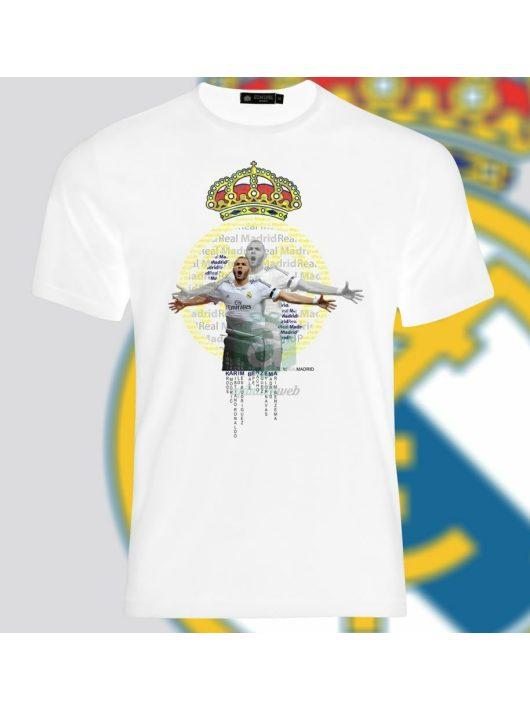 Real Madrid   Benzema póló