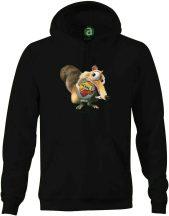 AS Roma - motkány kapucnis pulóver