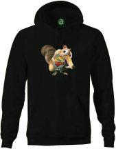 AS Roma   motkány kapucnis pulóver