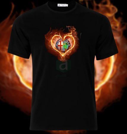 Alfa Romeo heart póló