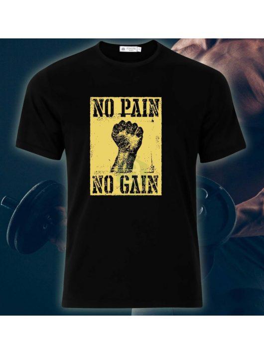 No pain, no gain póló