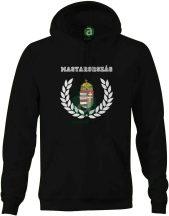 Magyarország babércímeres kapucnis pulóver