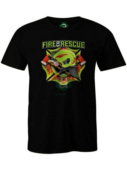 Fire&rescue póló